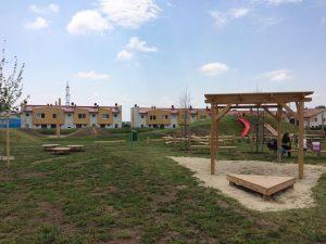 Spielplatz Gänserndorf bei der Volksschule